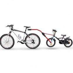 Peruzzo Angel barra traino bicicletta rosso