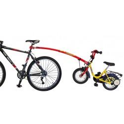 Trail Gator barra traino tandem bicicletta bimbo rosso