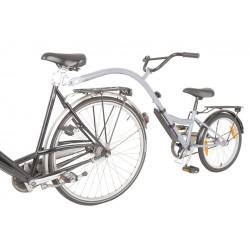 """Trailer Bike  mezza bicicletta per bimbo da 20"""" argento"""