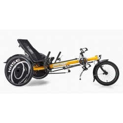 Hasebikes TRIX triciclo per ragazzi giallo