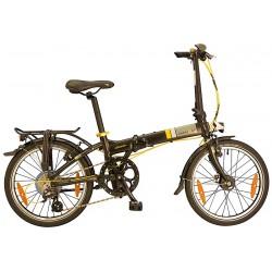 """Dahon Vitesse D8 20"""" bici pieghevole ossidiana"""