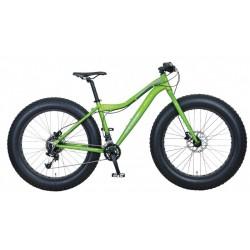 """KHS 1000 26"""" bicicletta fatbike verde"""