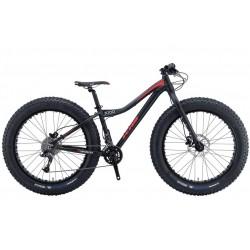"KHS 3000 26"" bicicletta fatbike nero opaco"