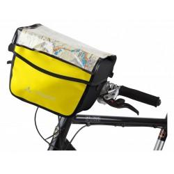 Vaude Aqua Box 6 litri borsa da manubrio giallo nero