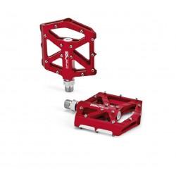 XLC pedali a piattaforma BMX/Freestyle rosso