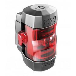Busch&Muller luce posteriore a diodi IXXI con batteria ricaricabile con cavo USB nero rosso