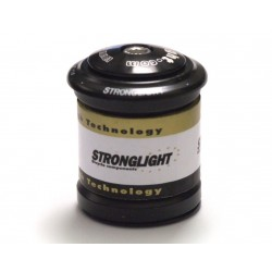 """Stronglight serie sterzo semi integrata in acciaio 1"""" 1/8 nero"""
