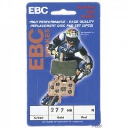 EBC pastiglie freno disco Hayes/Promax/HFX/Imperial DX04