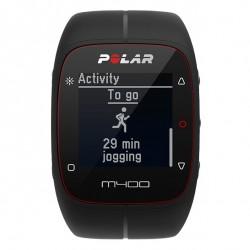 Polar M400 cardio frequenzimetro con GPS integrato nero