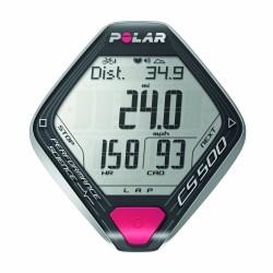 Polar CS500+ cardio frequenzimetro nero/grigio